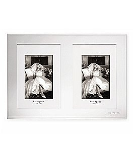 Image of kate spade new york Darling Point Double Wedding Invitation/Photo Frame