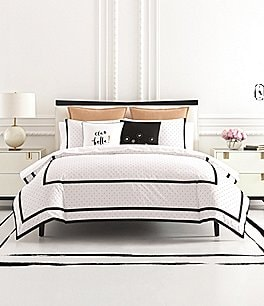 Image of kate spade new york Dot Frame Comforter Mini Set