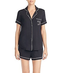 "Image of kate spade new york ""dream a little dream"" Jersey Knit Shorty Pajamas"
