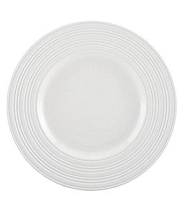 Image of kate spade new york Fair Harbor Channel-Rimmed Stoneware Accent Salad Plate