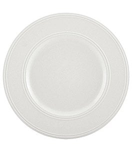 Image of kate spade new york Fair Harbor Channel-Rimmed Stoneware Dinner Plate