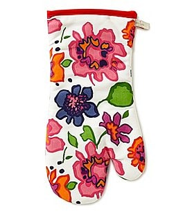 Image of kate spade new york Festive Floral Oven Mitt