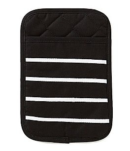Image of kate spade new york Grosgrain Striped Pot Holder Mitt