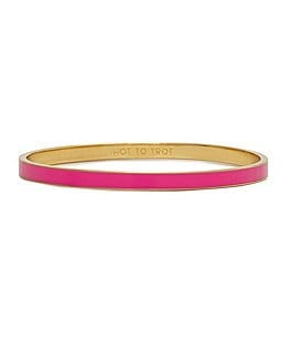 Image of kate spade new york Hot to Trot Idiom Bangle Bracelet