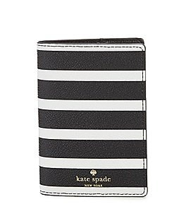 Image of kate spade new york Hyde Lane Striped Passport Case