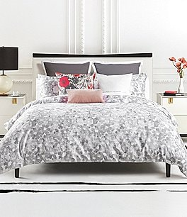 Image of kate spade new york Inky Floral Comforter Mini Set