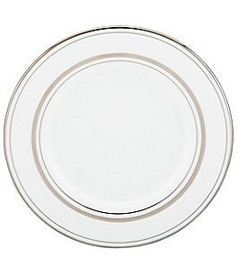 Image of kate spade new york Library Lane Platinum Salad Plate