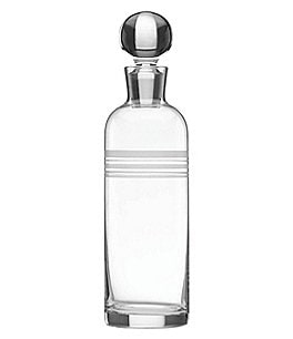 Image of kate spade new york Library Stripe Crystal Decanter