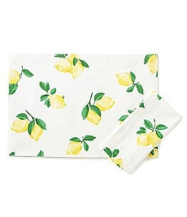Image of kate spade new york Make Lemonade Table Linens