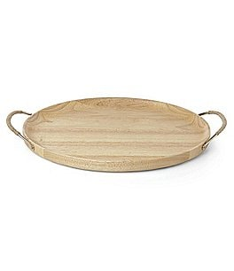 Image of kate spade new york Melrose Avenue Wooden Bar Tray