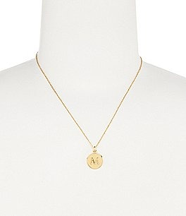 "Image of kate spade new york ""One In A Million"" Initial Necklace"