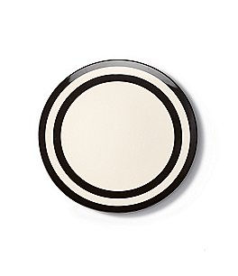 Image of kate spade new york Raise A Glass Striped Melamine Dinner Plate