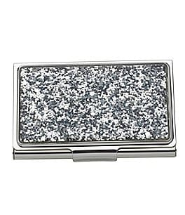 Image of kate spade new york Simply Sparkling Business Card Holder