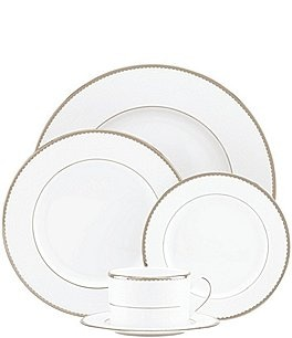 Image of kate spade new york Sugar Pointe 5-Piece Place Setting