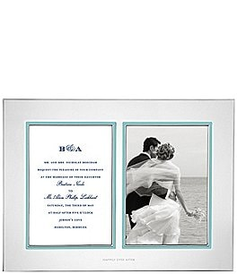 Image of kate spade new york Take the Cake Double Wedding Invitation Frame