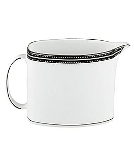 Image of kate spade new york Union Street Striped & Dotted Creamer