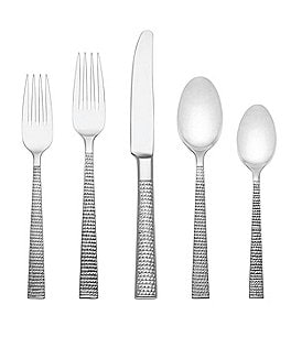Image of kate spade new york Wickford 5-Piece Stainless Steel Flatware Place Setting