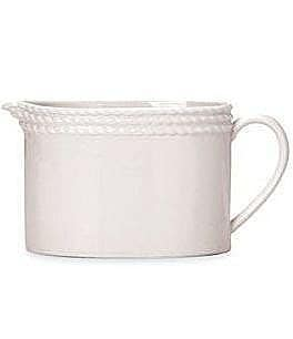 Image of kate spade new york Wickford Rope-Embossed Porcelain Creamer