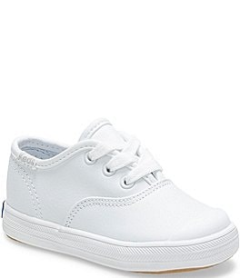 Image of Keds Champion Leather Cap-Toe Sneakers