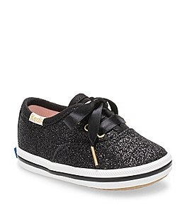 Image of Keds for kate spade new york Girls' Glitter Crib Shoe Sneakers