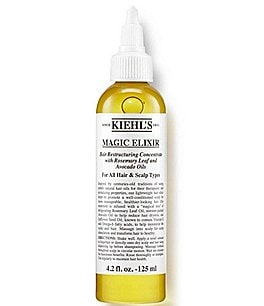 Image of Kiehl's Since 1851 Magic Elixir Hair Restructuring Concentrate with Rosemary Leaf and Avocado