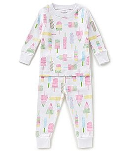 Image of Kissy Kissy Baby 12-24 Months Printed Top & Pants Pajama Set