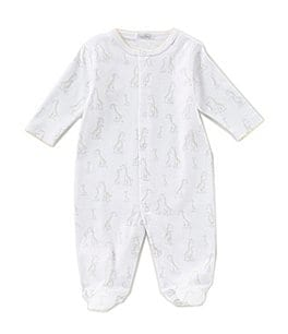 Image of Kissy Kissy Baby Newborn-9 Months Giraffe Generations Footed Coverall