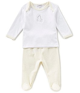 Image of Kissy Kissy Baby Newborn-9 Months Giraffe Generations Top & Pants Set