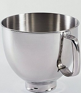 Image of KitchenAid 5-Quart Handled Mixing Bowl Artisan Stand Mixer Attachment