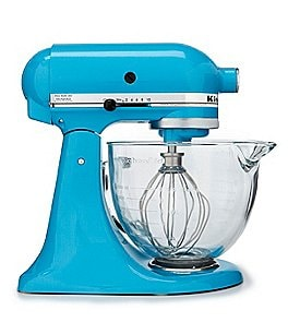 Image of KitchenAid 5-Quart Tilt-Head Stand Mixer with Glass Bowl and Flex Edge Beater