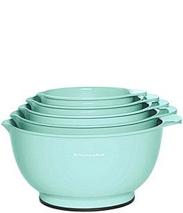 Image of KitchenAid Ice Blue 5-Piece Mixing Bowl Set