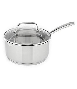 Image of KitchenAid Stainless Steel Saucepan with Glass Lid