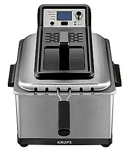 Image of Krups 4.5-Liter Professional Deep Fryer with Preset Options