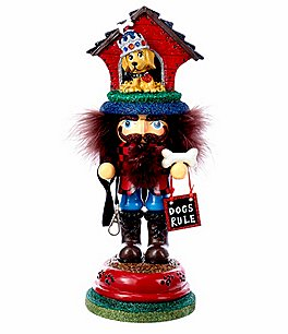 Image of Kurt S. Adler Hollywood Collection Doghouse Hat Collection Nutcracker