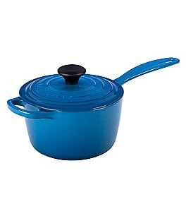 Image of Le Creuset Signature 1.75-Quart Enamel Cast Iron Saucepan