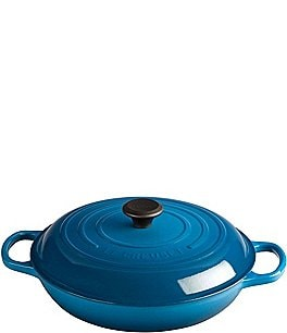 Image of Le Creuset Signature 3.5-Quart Enameled Cast Iron Braiser