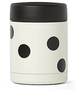 Image of kate spade new york All in Good Taste Deco Dot Double-Wall Insulated Food Container