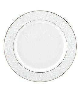 Image of Lenox Artemis Floral Platinum Bone China Bread & Butter Plate