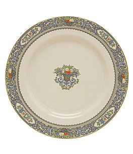 Image of Lenox Autumn Floral Fruit Basket Dinner Plate