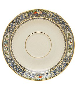 Image of Lenox Autumn Floral Fruit Basket Saucer