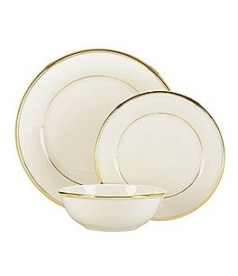 Image of Lenox Eternal Ivory 3-Piece Place Setting