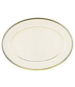"Image of Lenox Eternal Ivory 13"" Oval Platter"