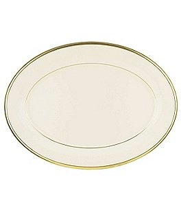 "Image of Lenox Eternal Ivory 16"" Oval Platter"
