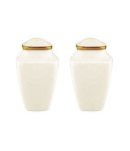 Image of Lenox Eternal Ivory Salt & Pepper Shaker Set