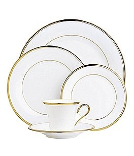 Image of Lenox Eternal White 5-Piece Place Setting