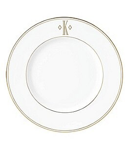 Image of Lenox Federal Gold Block-Monogrammed Accent Plate