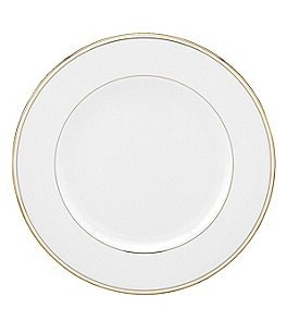 Image of Lenox Federal Gold Bone China Salad Plate