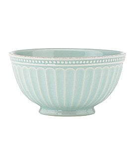 Image of Lenox French Perle Groove Stoneware Everything Bowl