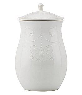 Image of Lenox French Perle Cookie Jar