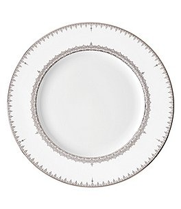 Image of Lenox Lace Couture Platinum-Accented Salad Plate
